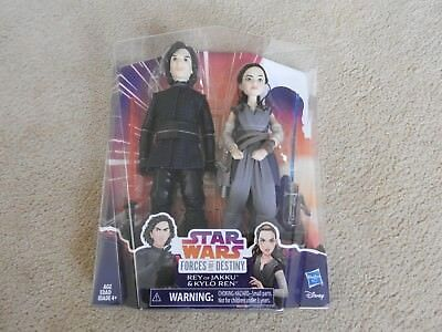 "Star Wars - Forces of Destiny Adventure Doll 11"" Kylo Ren and Rey 2-Pack"