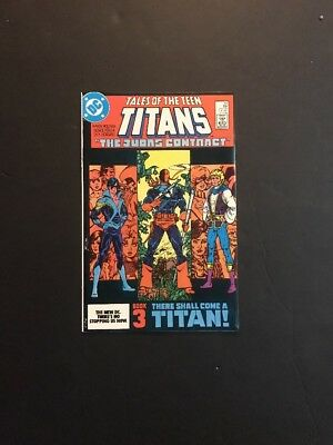 Tales of the New Teen Titans 44 DC 1984 1st App Nightwing Robin High Grade VF+