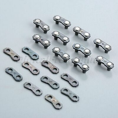 10 Set Chainsaw Chain Joiner Links Garden Tool For JOINING 325 058 CHAINS Parts