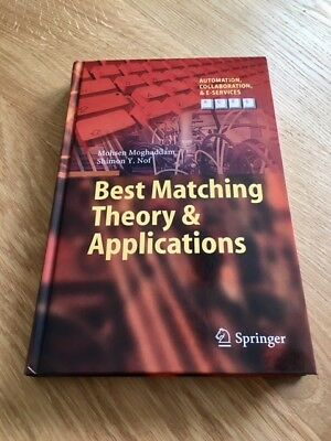 Best Matching Theory & Applications von Mohsen Moghaddam und Shimon Y. Nof (2016