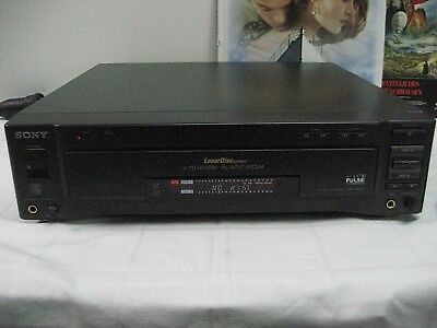 SONY MDP - 850D Laser Discc Player