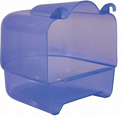 Trixie 54032 Vogelbad transparent 15 × 16 × 17 cm für z. B.: Wellensittiche
