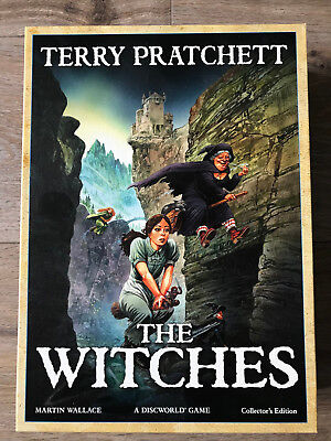 Discworld: The Witches, Collector's Ed., Treefrog Games, engl., LIKE NEW/WIE NEU