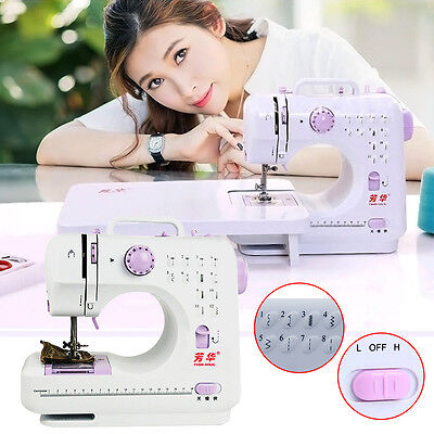 12 Stitches Multifunction Electric Overlock-Sewing Machine Home Sewing Tool New