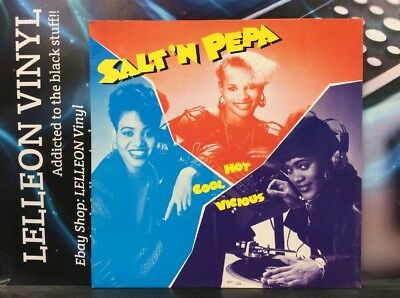Salt N Pepa Hot Cool Vicious LP Album Vinyl Record CHAMPX1007 A1/B1 Rap 80's