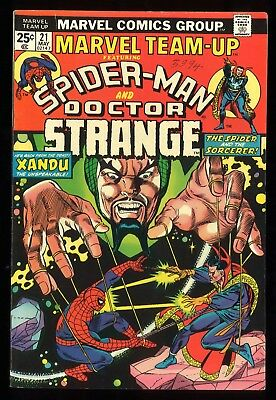 (Bronze Age) Marvel Team-Up #21 (Spider-Man and Doctor Strange