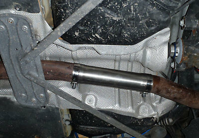 BMW M135i Centre resonator mid silencer delete pipe deres pipe