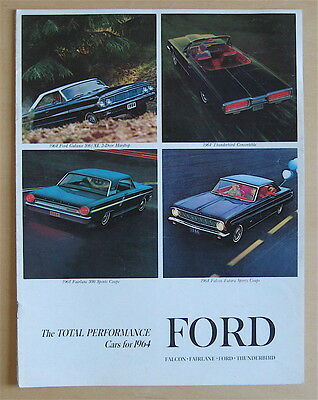 1964 Ford Full Line Sales Brochure
