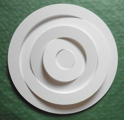 Large Ceiling Rose  - Lightweight Resin - (Not Polystyrene) 3D CIRCLE 550MM
