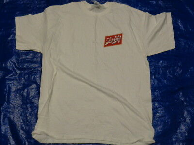 NWOT Vintage Schlitz Beer logo t-shirt whte really cool shirt