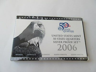 USA 2006 United States Mint 50 State Quarters Silver Proof set Münzset