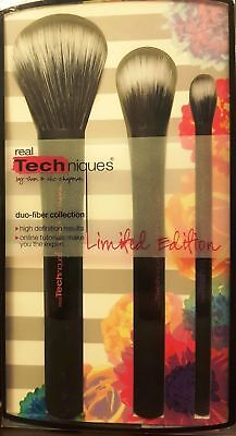 Real Techniques Duo Fiber Collection - Limited Edition Black UK