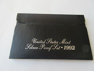 USA 1992 United States Mint Silver Proof set Münzset
