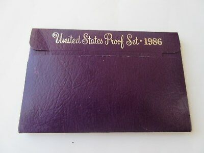 USA 1986 United States Proof set Münzset