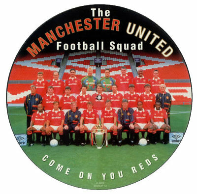 "Manchester United Squad - Come On You Reds (12"" Picture Disc)"