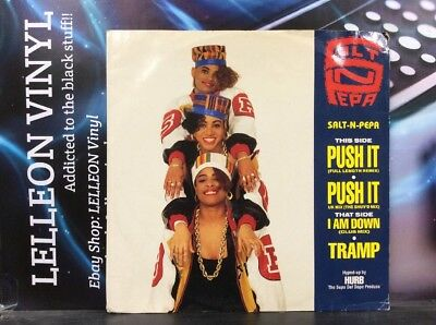 "Salt N Pepa Push It 12"" Single Vinyl FFRRX2 A1/B1 Rap 80's"