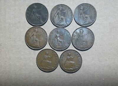Lot of 41 Vintage Canadian Half Penny Large Cent and Small Cent 1861-1940
