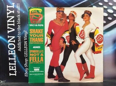 "Salt N Pepa Shake Your Thang 12"" Single Vinyl FFRX11 A1/B1 Rap 80's"