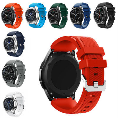 Replacement Sport Soft Silicone Strap Band For Samsung Gear S3 Frontier/Classic