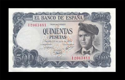 23.7.1971 BANK OF SPAIN 500 PESETAS **MADRID** (( aUNC ))