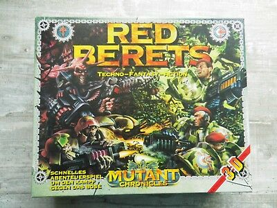 Red Berets Mutant Chronicles Target Games 1993