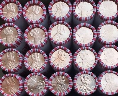 2017 Philadelphia Penny 20 Rolls ( First P Mint Mark) Uncirculated 1000 Coins