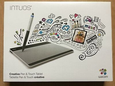 WACOM INTUOS 💙 Creativ Pen & Touch Tablet CTH-480/S wie NEU