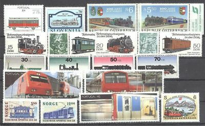 Eisenbahn, Railways - LOT - ** MNH