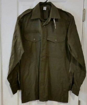 Australian  Long Sleeve  Army Shirts With Epaulets