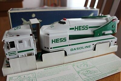 NEW 1999 HESS Toy Truck and Space Shuttle with Satellite - New In Box