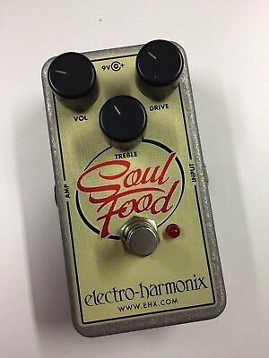 Electro Harmonix Soul Food, Overdrive/CleanBoost/Verzerrer-Pedal