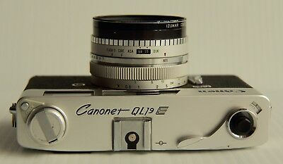 Canon  Canonet QL 19E -> Parts or Restoration