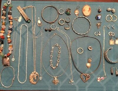 Sterling Silver Jewelry Lot 337g