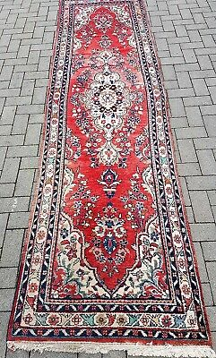 ANCIEN GRAND TAPIS MALAYER PERSE GALERIE NOUE MAIN 322 x 85 CM