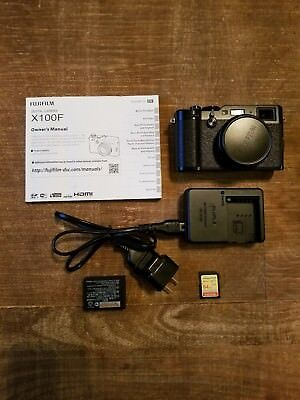 Fujifilm X100F 24.3MP Digital Camera - Black, Free priority shipping.