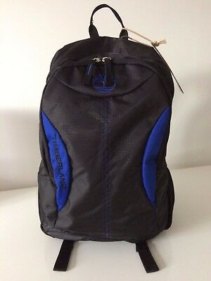 Bondcliff  Timberland E-Series Backpack Black/Blue Rucksack Laptop Bag RRP £49