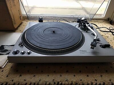 Technics SL-1600 Direct Drive Vintage Turntable,boxed for 20+ years