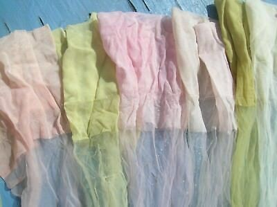 Lot Assorted  Adult Vintage Antique Stockings Hose Singles NON MATCH USED ASSORT