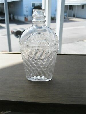 Fancy  Pt Calif Flask--- Berges & Garrissere