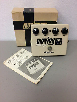 Guyatone Moving Box Flanger PS-107 Effect Pedal Vintage with Box