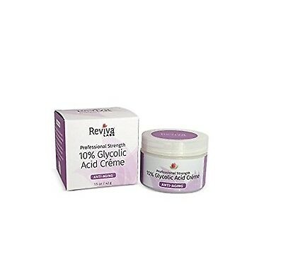 Reviva Labs 10% Glycolic Acid Cream, 1.5 Ounce: Package may vary 1.5 Ounces