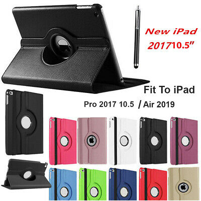 New 2017 iPad Pro PU Leather 360 Rotating Stand Case Cover For 2017 iPad Pro10.5