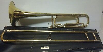 absolutely beautiful conn 50h trombone with f attachment... Excellent shape