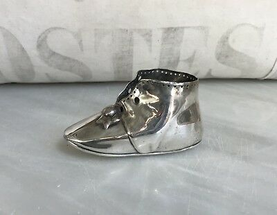 Charming Old Gorham Company Sterling Silver Baby Shoe