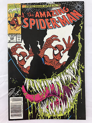Amazing Spider-Man #346 First Print High Grade Venom