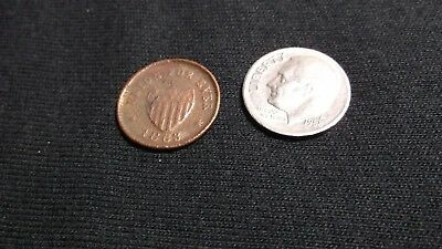 1863 Union For Ever Civil War Token Found On Shipwreck