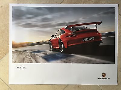 Porsche Factory Poster-2015 Carrera 911 | 991 GT3 RS-Rear Left Shot