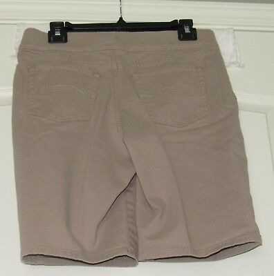 Croft & Barrow Shorts Size 10 Stretch Pull On Khaki