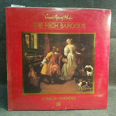 J.S. Bach / Handel Great Ages Of Music The High Baroque Time Life SGMU-01 1984