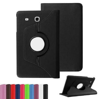 PU Leather Rotating Stand Case Cover For Samsung Galaxy Tab E 8.0 SM-T377 T375